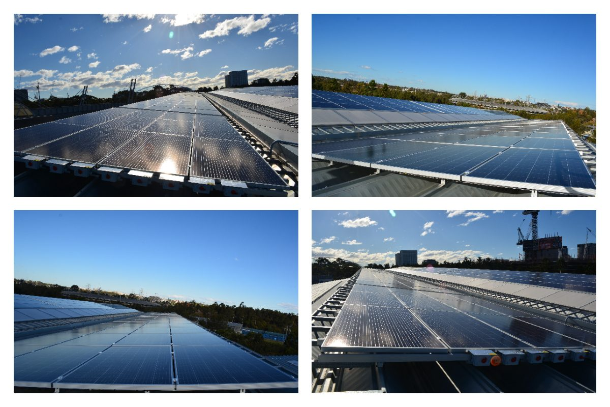 100KW project in Sydney Olympic Park